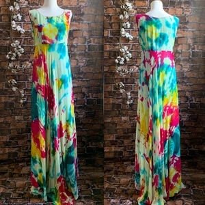 Vintage Tie Dyed Gown